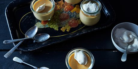 Burnt Caramel Pudding (whipped cream not optional)
