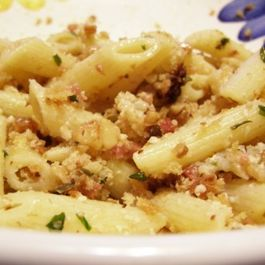 Penne with Cauliflower and Pancetta