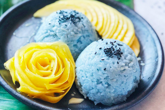 "Mango Coconut ""Sticky"" Rice"