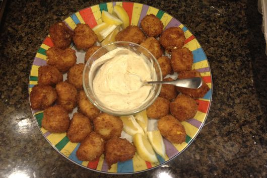 Chesapeake Crispy Corn Croquettes