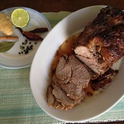 Lamb roast in a pot-Indian Style
