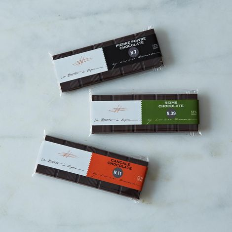 La Boîte Limited Edition Chocolate Bars (Set of 3)