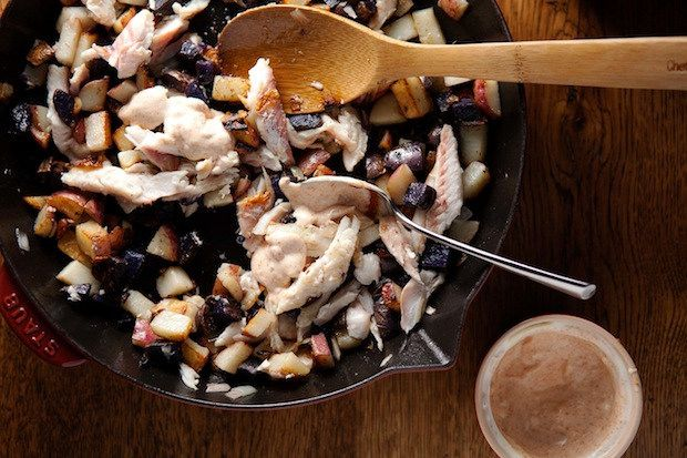 Smoked fish and potatoes from Food52