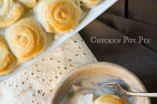 Lazy Chicken Pot Pie