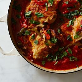 One-Pot Chicken Cacciatore