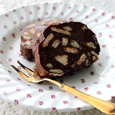 chocolate no-bake dessert (chocolate salami)