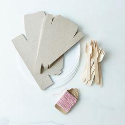 Pie Slice to Go Box Kit