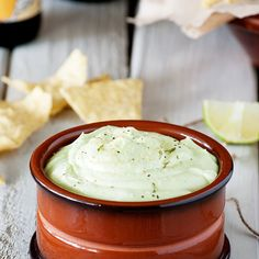 Guilt-free Creamy Greek Yogurt Avocado Dip