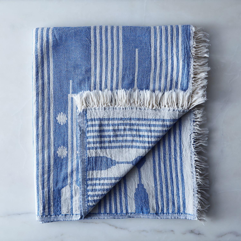 Arrow Turkish Cotton Fringe Towel On Food52