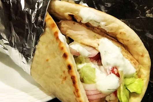 Chicken Gyro & Dill Ranch Sauce