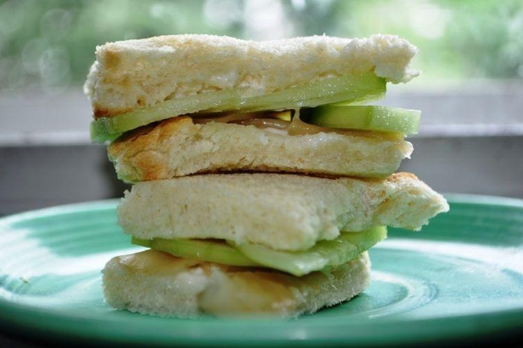 Cucumber and Ginger Tea Sandwich