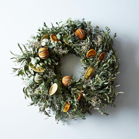 Citrus Wreath
