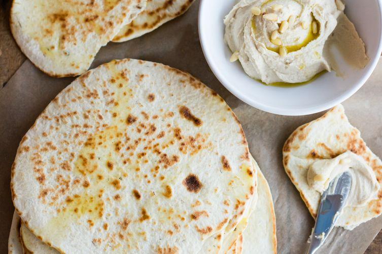 Herbed Greek Flatbread
