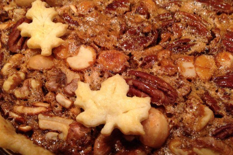 Drew's Wild Nut Pie