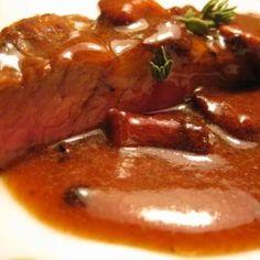 Wild Mushroom Teriyaki Flank Steak