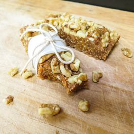 Walnut Nougat Bars