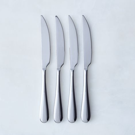 Italian Stainless Steel Steak Knives (Set of 4)