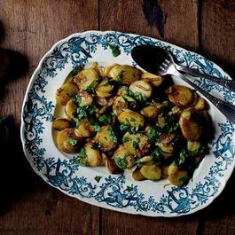 Potatoes àla Lyonnaise