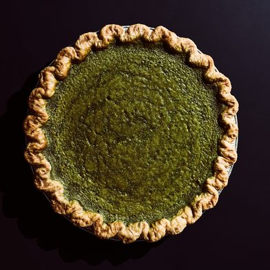 Four & Twenty Blackbirds Matcha Custard Pie