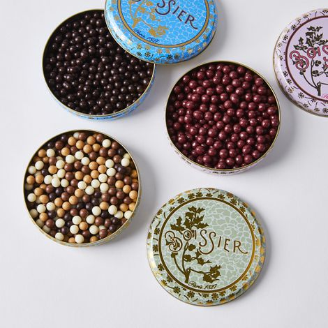 Assorted Parisian Chocolate Pearls, Set of 3