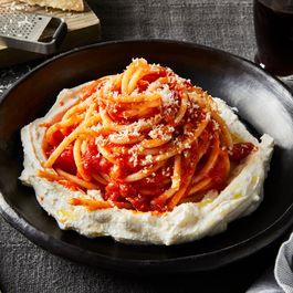 Pasta w/ Ricotta by John Justus