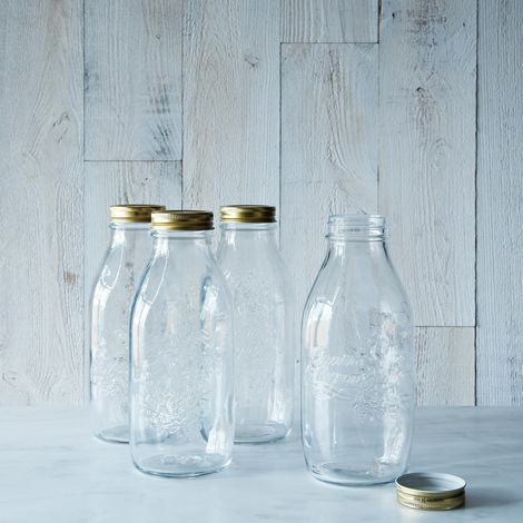 Quattro  Staggioni 1 Litre Canning Bottle (Set of 12)