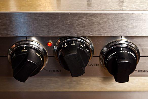 Temperature knobs
