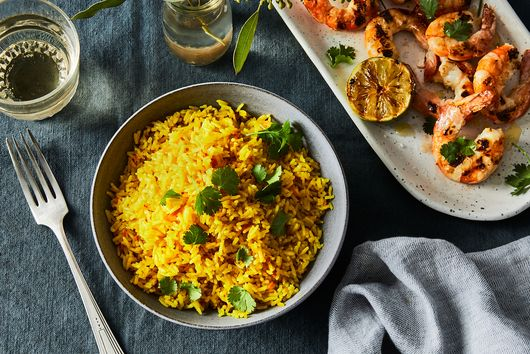 Vibrant Turmeric Coconut Rice From Andrea Nguyen