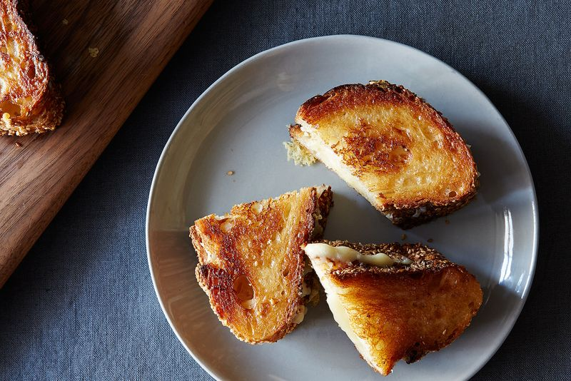 Is this grilled cheese beyond you?