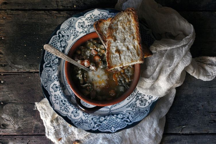 Via Frattas Tuscan Minestrone Soup Recipe on Food52