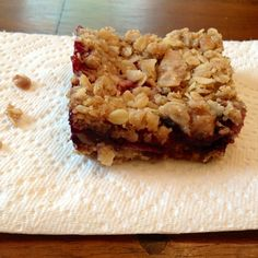 Mixed Berry and Walnut Crumble Bars