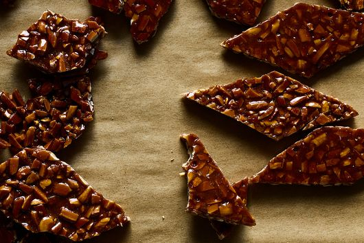 Marcella Hazan's Croccante (2-Ingredient Almond Brittle)