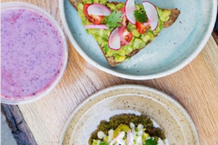 How to make gluten free avocado toast (the trick: serve it on a falafel waffle)