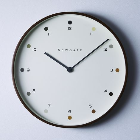 Mr. Clarke Dot Dial Wall Clock