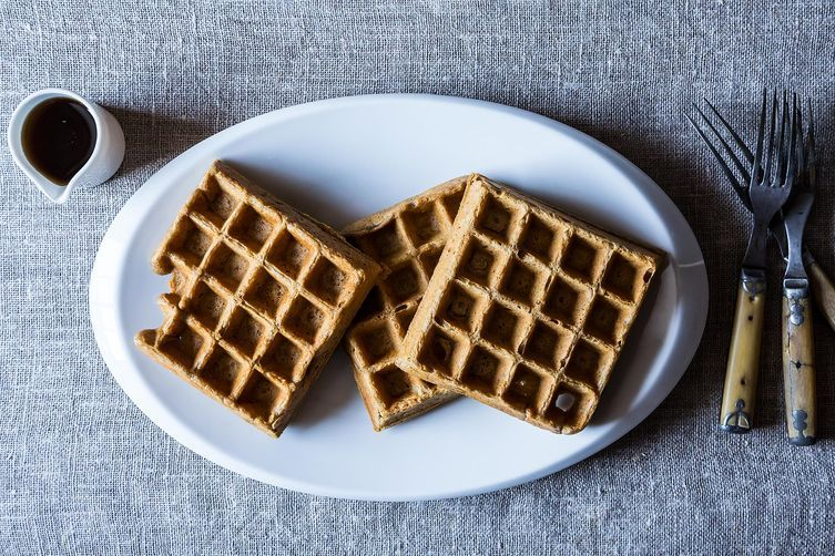 Stout waffles from Food52