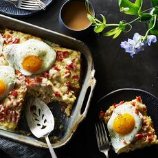 Croque Madame Hot Dish