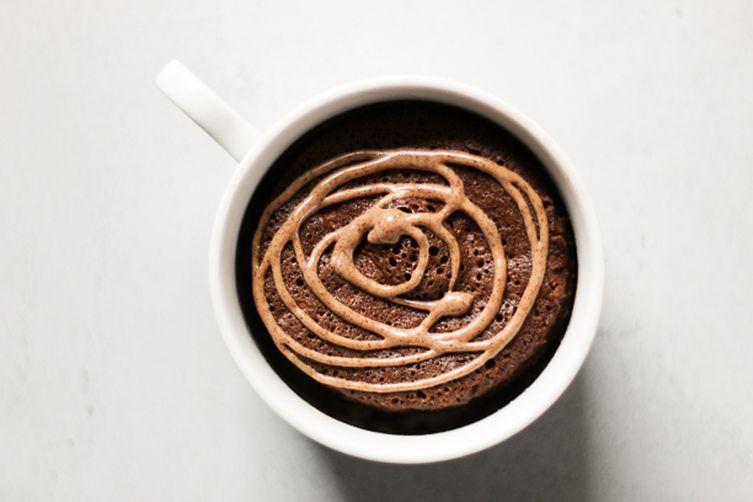 Decadent Chocolate Mugcake for One
