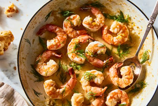 Lemony, Buttery Shrimp for When You're Short on Time