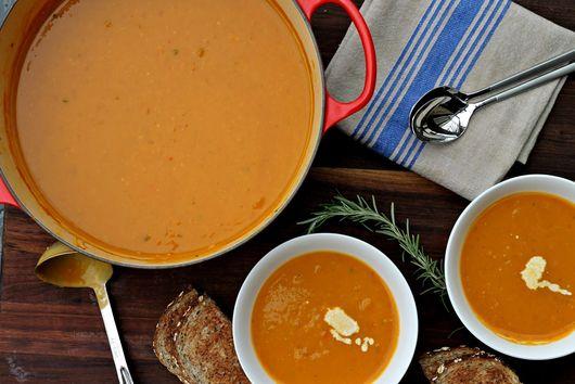 Pumpkin & Butternut Squash Soup