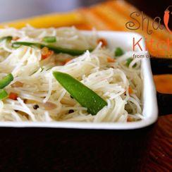 Spiced Rice Noodle Upma