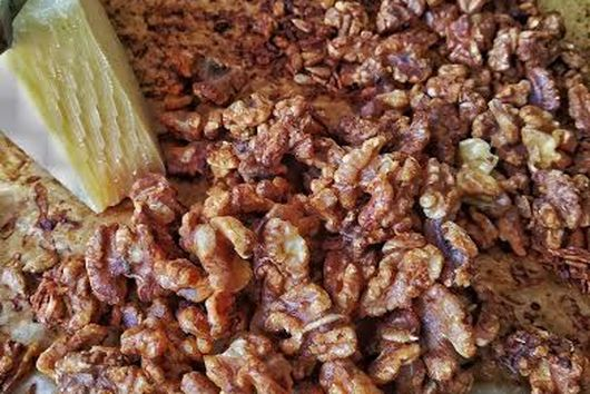 Toasted Walnuts With Parmesan