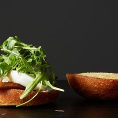 Poached Egg & Bacon Sandwich