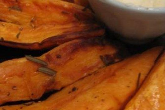 Rosemary Sweet Potato JoJos