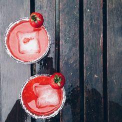 Count to 5 Strawberry Margarita