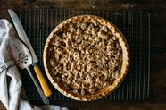 Ginger-Apple Crumble Pie (Gluten and Dairy-Free)