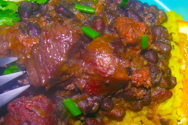 Iara's Feijoada Completa (black beans)