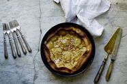 Peach and Almond Clafoutis