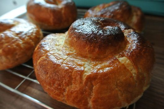 Spinach Feta Pastry Coils
