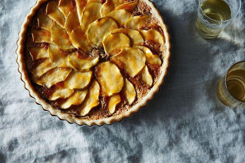 Vermont Apple Frangipane Tart