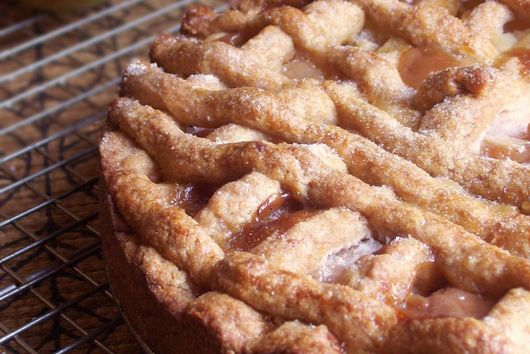 Whole Wheat Pear & Cognac Crostata